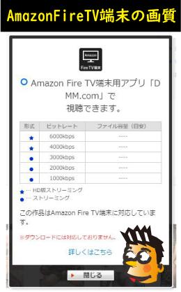 AmazonTVの画質
