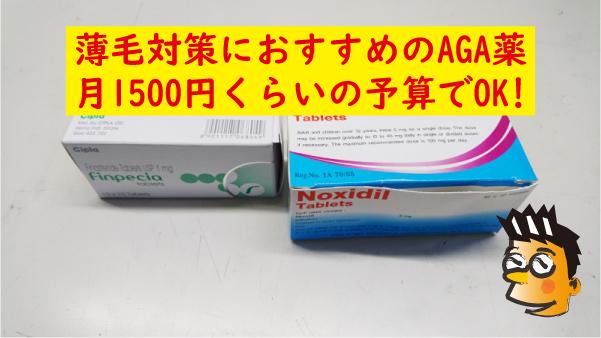 薄毛対策AGA薬