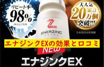 エナジンクEXの効果と口コミ